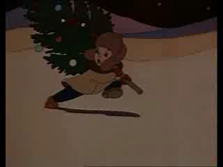 Новогоднее путешествие. (Старенькие советские мультфильмы про Новый год.)