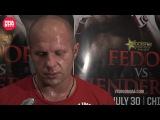 Strikeforce: Fedor vs Henderson - Открытая тренировка Федора Емельяненко
